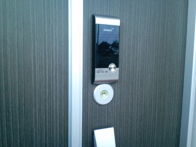 電子ロック(埼玉県さいたま市で電子錠の取付けをしました。)