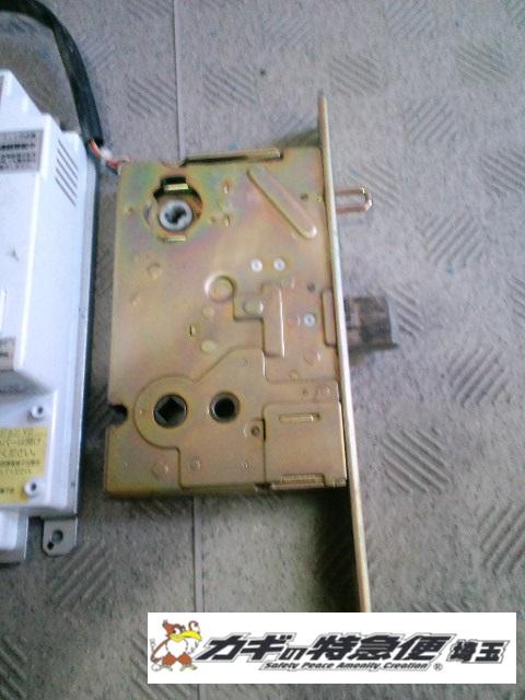 電気錠システムの修理・交換(東京都台東区で美和ロック電気錠の修理をしました。)