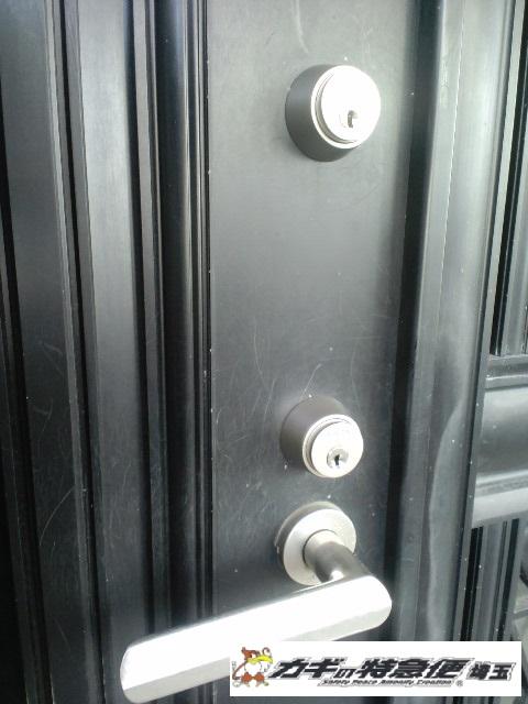 鍵交換(練馬区でSHOWA(ショーワ)の鍵を防犯ディンプルキーに交換)
