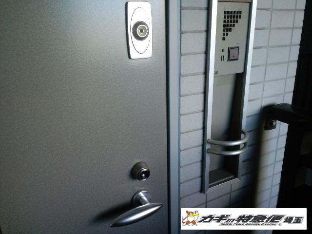鍵取付け(戸田市で本当に防犯性能の高い鍵の取付け(話題のCP認定錠))