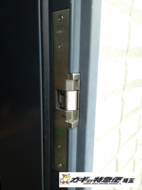 電気錠システムの修理・交換(越谷市の一戸建てで電気錠修理)