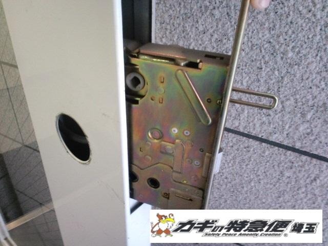 オートロックマンションの鍵修理(オートロックが閉まらない / 葛飾区で電気錠修理)