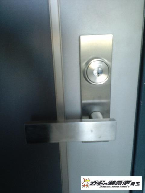 鍵交換(埼玉県川口市でオートロックマンションの鍵交換)
