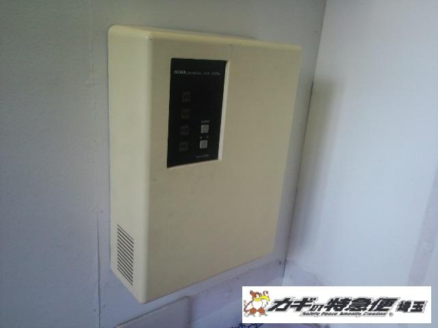 オートロックマンションの鍵修理(MIWA BAN-WSEU 世田谷区でオートロック電気錠の修理)