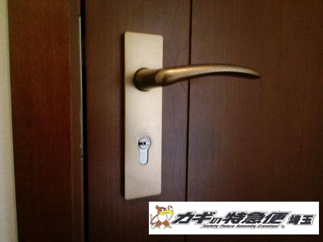 鍵交換(文京区で輸入ドアの鍵交換| ZEISS IKON)