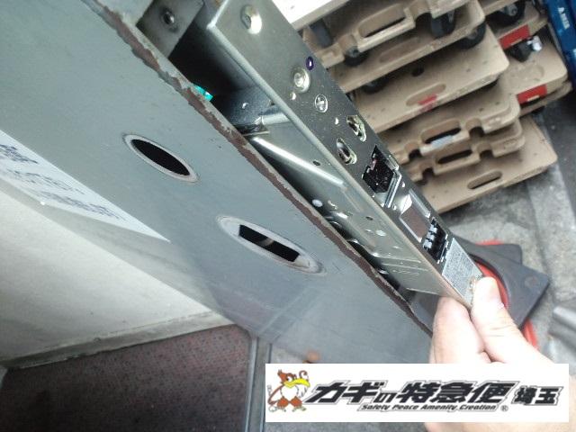 電気錠システムの修理・交換(越谷市で電気錠の修理|鍵が閉まらない事がある)