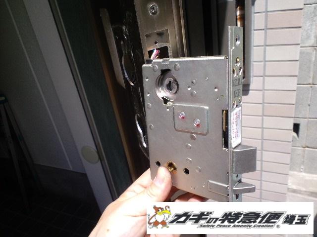 電気錠システムの修理・交換(鍵が閉まらない 練馬区の一戸建てで電気錠修理)
