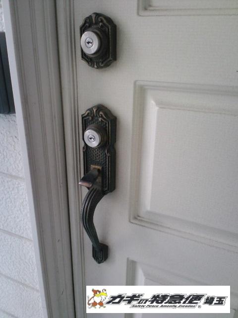 鍵交換(川口市で鍵交換|トステムの一戸建て扉クリエラ)