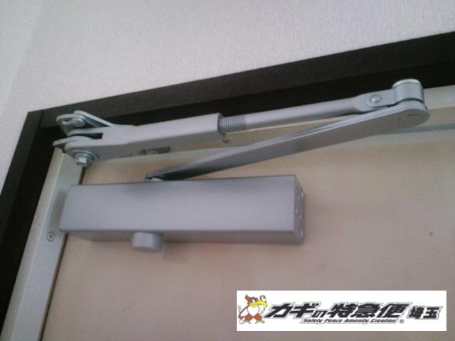 ドアクローザーの交換修理(油漏れによるドアクローザー交換は当社まで|東京都練馬区|リョービ)