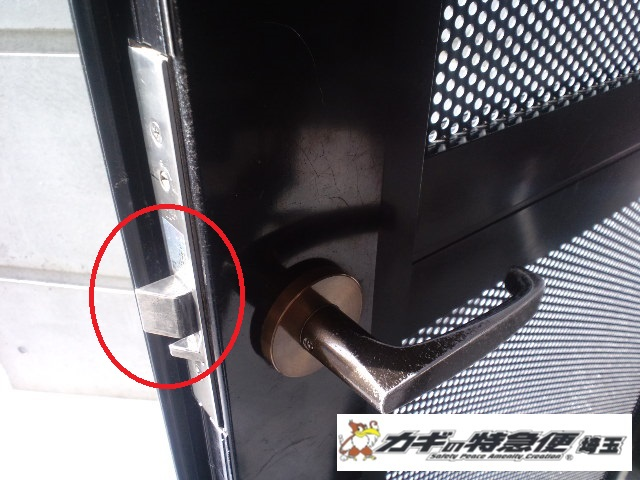 鍵の修理・調整(マンション共用部の鍵がかからない 埼玉県川口市)
