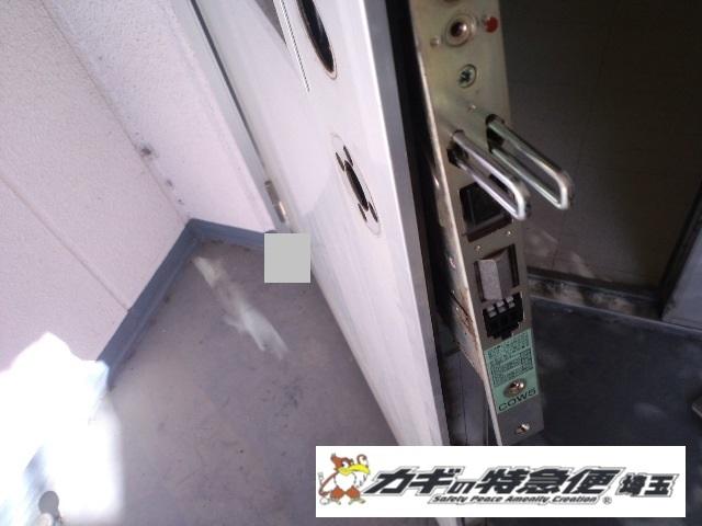 電気錠システムの修理・交換(美和ロックの電気錠が閉まらない!埼玉県朝霞市(病院))