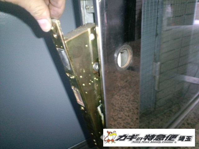 オートロックマンションの鍵修理(オートロックが動かないトラブルの修理対応を新宿区でしました)
