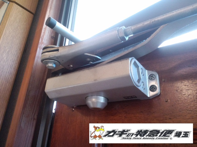 ドアクローザーの交換修理(東京都や埼玉県でドアクローザーの交換・修理・下地補強に対応します。)