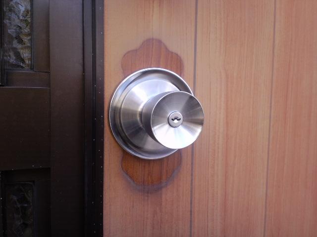 鍵交換(美和ロック製装飾錠をリーズナブルな鍵に交換しました。埼玉県川口市)