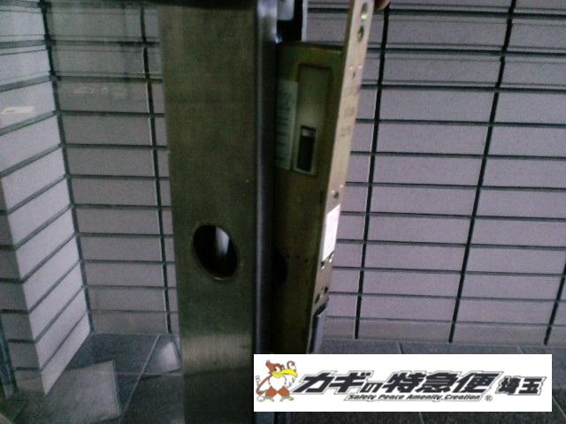 電気錠システムの修理・交換(東京都北区王子・オートロックが閉まらない!反応しない!美和ロック電気錠)