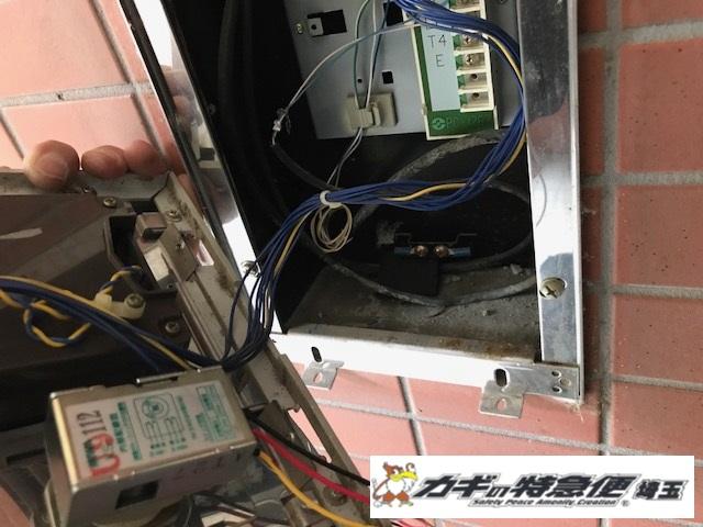 オートロックマンションの鍵修理(オートロックが開かない!東京都江戸川区で電気錠システムの修理!美和ロック)