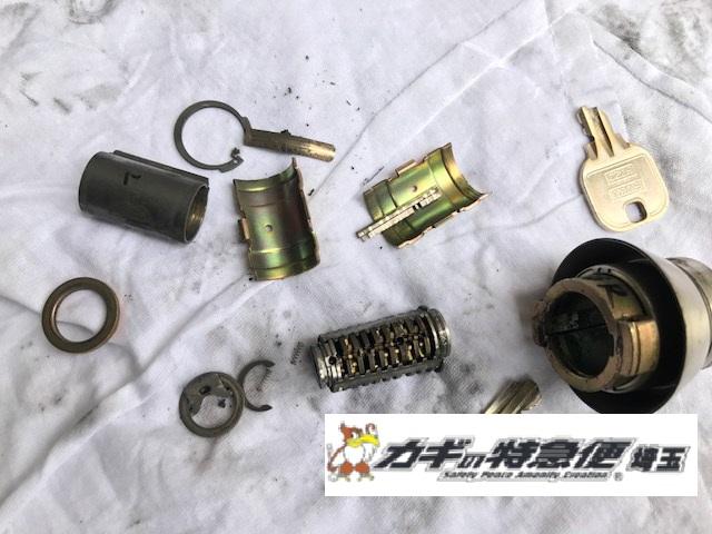 鍵の修理・調整(鍵が折れた!川口市で早朝の出動!)