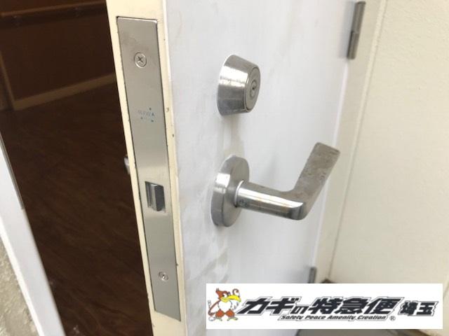 電気錠システムの修理・交換(オートロック電気錠が開きっぱなしで閉まらない!さいたま市大宮区で緊急対応!美和ロック)
