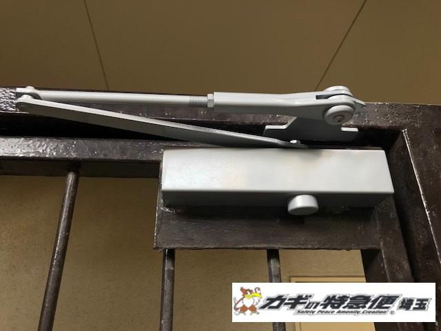 ドアクローザーの交換修理(NHNのドアクロ―ザー70シリーズは簡単に交換できません!さいたま市で交換工事)