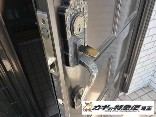 鍵交換(技研(GIKEN)装飾錠の鍵交換は当社にお任せ下さい!さいたま市)