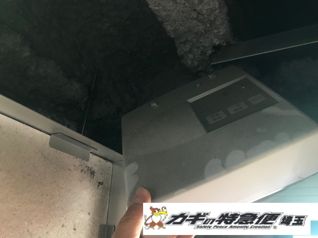 電気錠システムの修理・交換(落雷でオートロック電気錠が動作しない!中野区で故障修理対応(美和ロック MIWA ALM BAN-BS1))