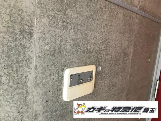 電気錠システムの修理・交換(アイホンの電気錠の故障修理/EL-PFP生産終了品/埼玉県さいたま市)