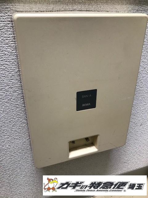 電気錠システムの修理・交換(MIWA BAN-A 電源が入らない!電気錠制御盤の故障修理対応/東京都台東区)