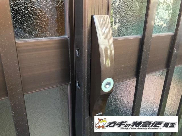 鍵交換(★引戸の鍵交換:東京都板橋区でディンプルキー)