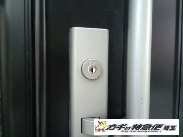 鍵交換(埼玉県蕨市にてトステムの鍵交換(ディンプルキー)です)