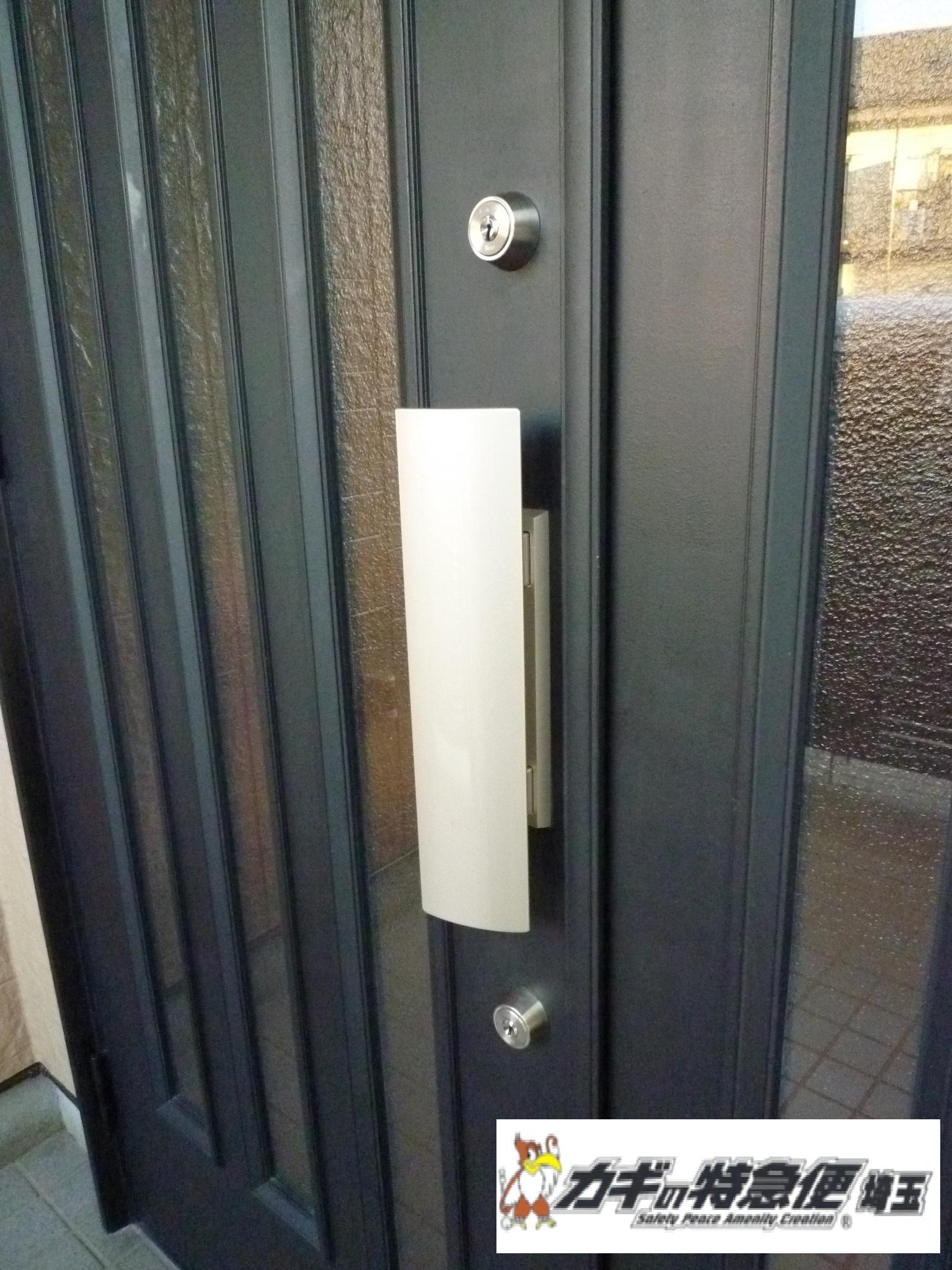 鍵開け(WESTの鍵が開かない!埼玉県戸田市で鍵開けと鍵交換)
