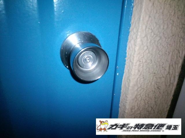 鍵開け(草加市で鍵開け 美和ロック)
