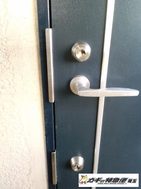 鍵交換(和光市でマンションの鍵交換 美和ロックディンプルキー)